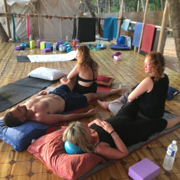 Ana Chidzoy Yoga Retreat Goa 15