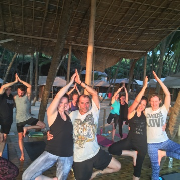 Ana Chidzoy Yoga Retreat Goa 8